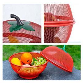 Apple Shape Mesh Fresh Fruits Storage Drain Basket Fruit Basket