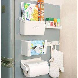 Magnetic Fridge Organizer Refrigerator Storage Rack 5 in 1