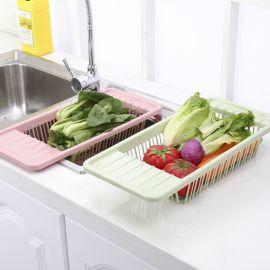 Sink draining rack multi functional fruit vegetable washing